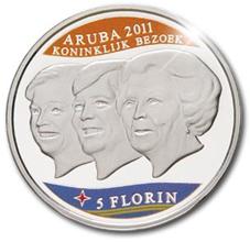 28.10.2011. Primera moneda conmemorativa a color en Holanda
