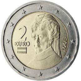 El euro: 2€ (Austria)
