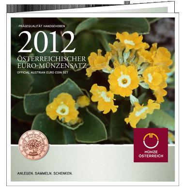 Set de monedas circulantes 2012 de Austria
