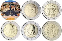 El euro: 2€ (Ciudad del Vaticano)
