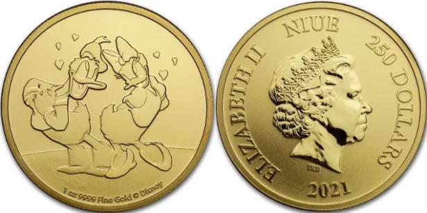 Una moneda especial para celebrar San Valentín
