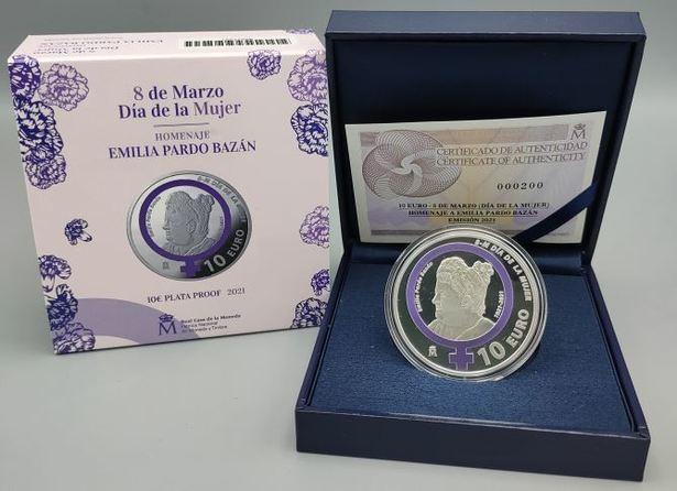 Próxima Emisión de la FNMT por el Día de la Mujer en homenaje a Emilia Pardo Bazán