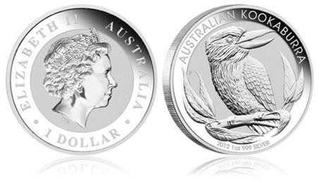 1 Kilo Australian Silver Kookaburra Coin 1992 Australian