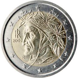 El euro: 2€ (Italia)