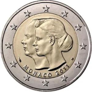 Así será la moneda de 2 euros conmemorativa de Mónaco para este 2021
