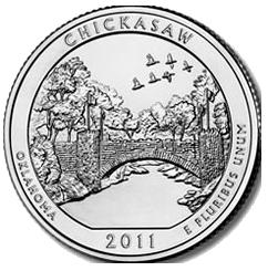 Chickasaw en 5 onzas de plata