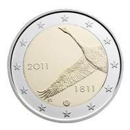 10.10.2011. Finlandia nos muestra un cisne en sus 2€