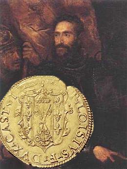 La moneda en la conjura y asesinato del primer duque de Parma