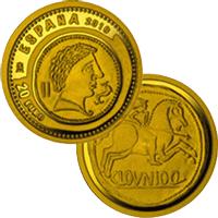 """VII Serie de """"Joyas Numismáticas"""" en oro y plata"""