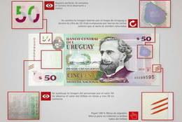 El Banco Central de Uruguay emite nuevos billetes más seguros