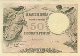Billetes no emitidos Siglo XX:  La monarquía de Alfonso XIII (I)
