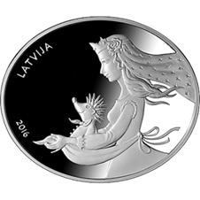 """""""El escudo del erizo"""", cuento letón en plata"""