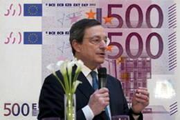 Suprimida la producción y emisión del billete de 500 euros