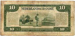 Indias Orientales Holandesas, emisión de Gulden (Florines) de 1943