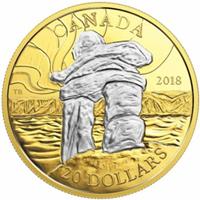 El monumento pétreo Inuksuk protagoniza la nueva moneda canadiense