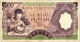 Indonesia 1.000 Rupiasde 1965 vs. 1.000 Rupias de 1961