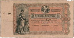Los primeros billetes españoles fabricados en Inglaterra