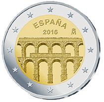Acueducto de Segovia en 2 euros