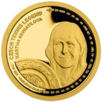 Leyendas del tenis checo en las monedas de Samoa