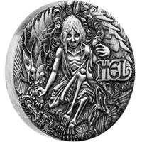 Tercera y última moneda de la serie Norse Goddesses