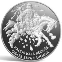 Letonia emite una moneda que homenajea las dainas