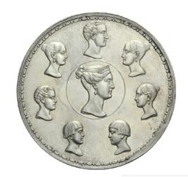 Los rublos de la familia del zar Nicolás I, una rareza de la moneda rusa