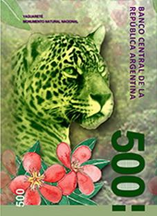 Nuevos billetes de 200 y 500 pesos dedicados a fauna y regiones de Argentina