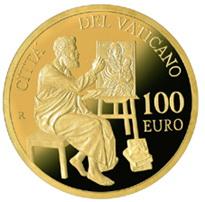 Serie Evangelistas: San Lucas en 100 euros del Vaticano