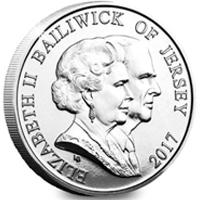 Jersey emite una moneda dedicada a la Boda Real