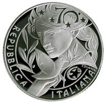 """Italia gana el premio a la """"Mejor Moneda del Año"""""""