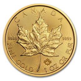 Royal Canadian Mint pone a la venta la Hoja de Arce de Oro 2017