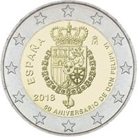 Monedas conmemorativas del 2018 de la FNMT
