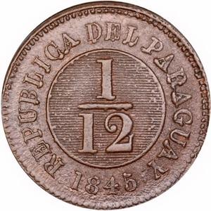 La primera moneda oficial del Paraguay