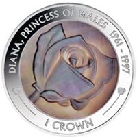 La Isla de Ascensión emite una moneda dedicada a Lady Di