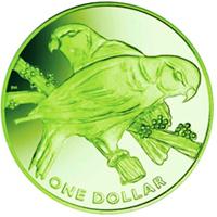 Fiji dedica una moneda a su ave Nacional
