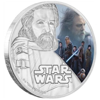 Monedas conmemorativas de The Last Jedi