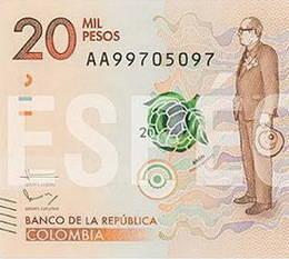 Nuevos 20.000 pesos colombianos para el expresidente Alfonso López Michelsen