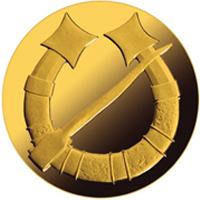 Nueva moneda de la serie Broches de Oro de Letonia