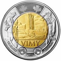 Nueva moneda bimetálica de la Royal Mint de Canadá