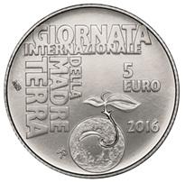 """5 euros de San Marino para el """"Día Internacional de la Madre Tierra"""""""