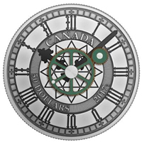 El reloj del Parlamento de Ottawa protagoniza la nueva moneda de Canadá