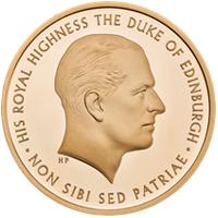 El Duque de Edimburgo protagonista de la nueva moneda de la Royal Mint