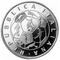 Italia lanza una moneda dedicada al Mundial de Rusia