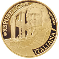 Una moneda de 20€ homenajea a Francesco Borromini