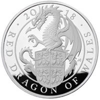 "La Royal Mint continua con la serie ""The Queen's Beasts"""