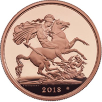 La Royal Mint ha mostrado el soberano de 2018