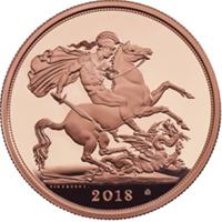 La Royal Mint ha mostrado el soberano de 2018