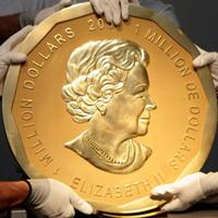Roban de un museo de Berlín la mayor moneda de oro del mundo