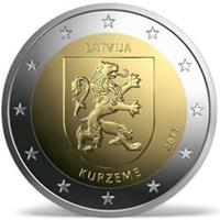 Monedas conmemorativas de 2 € de Letonia