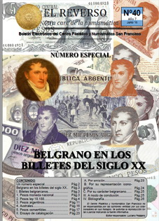 Bolet�n Electr�nico �El Reverso� n�mero 40, junio 2016. Especial Belgrano